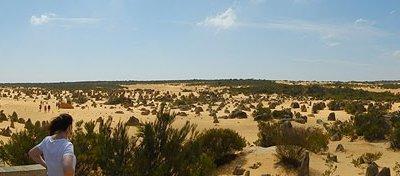A Pinnacles sivatag