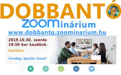 Dobbantó – Férfiklub Specht Józseffel